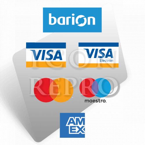 ICON Repro bankkártyás fizetés